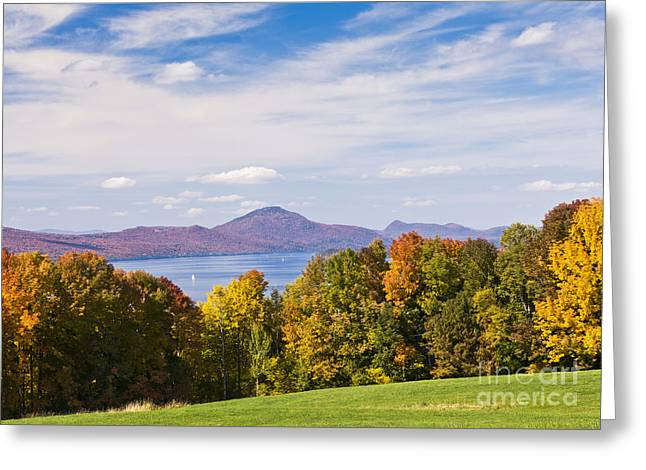 Memphremagog Autumn Greeting Card