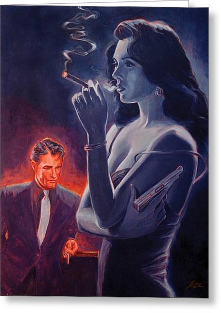 Men And Cigars Were The Same To Zelda- If You Got Em - Smoke Em Greeting Card