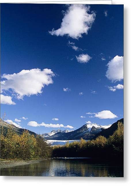 Mendenhall River Greeting Card by John Hyde - Printscapes