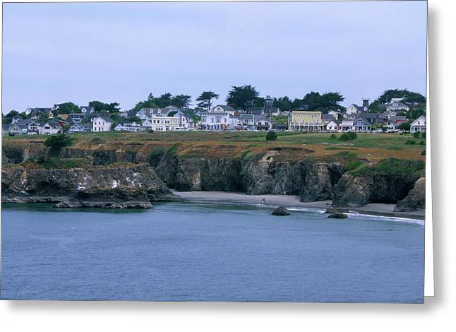 Mendocino Cape Greeting Card by Soli Deo Gloria Wilderness And Wildlife Photography