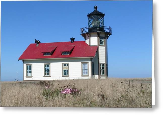Mendocino Lighthouse Greeting Card