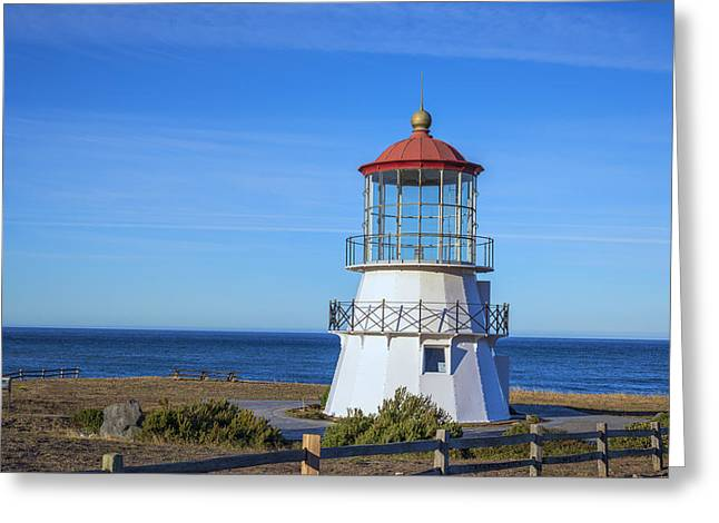 Mendocino Ligthhouse Greeting Card