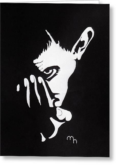 Mephisto Greeting Card by Marie Halter