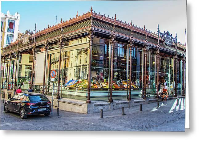 Mercado San Miguel, Madrid Greeting Card
