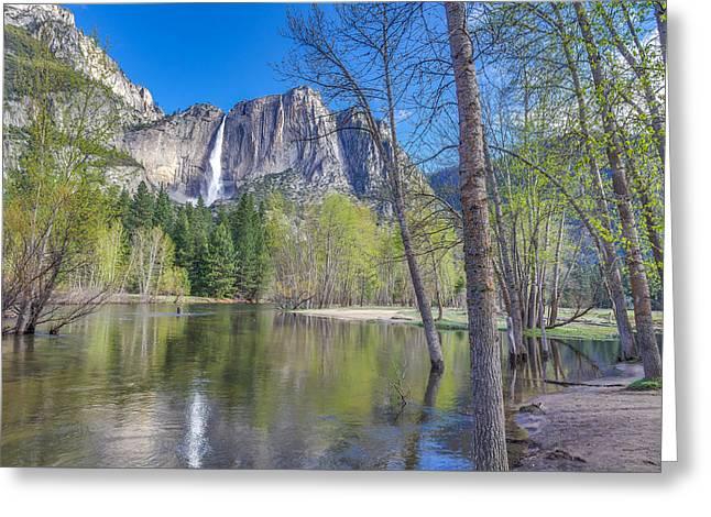 Greeting Card featuring the photograph Merced River In Spring by Scott McGuire