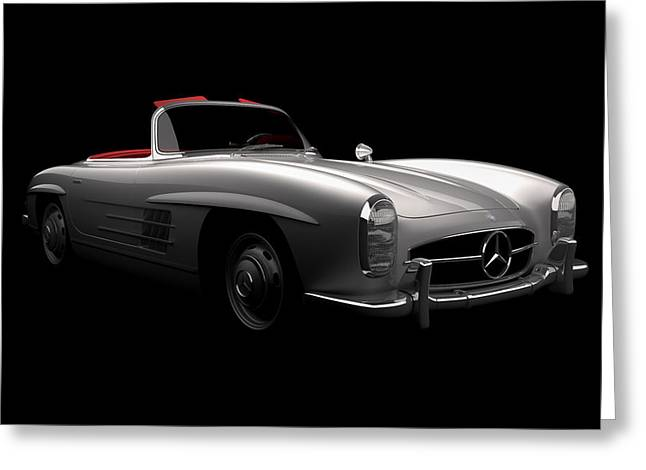 Mercedes 300 Sl Roadster Greeting Card