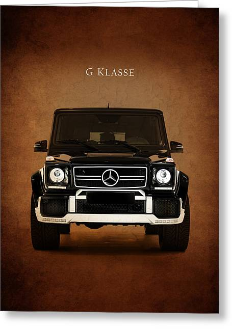 Mercedes Benz G Klasse Greeting Card