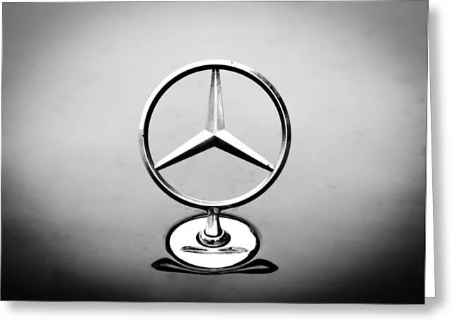 Mercedes Benz Logo Greeting Card