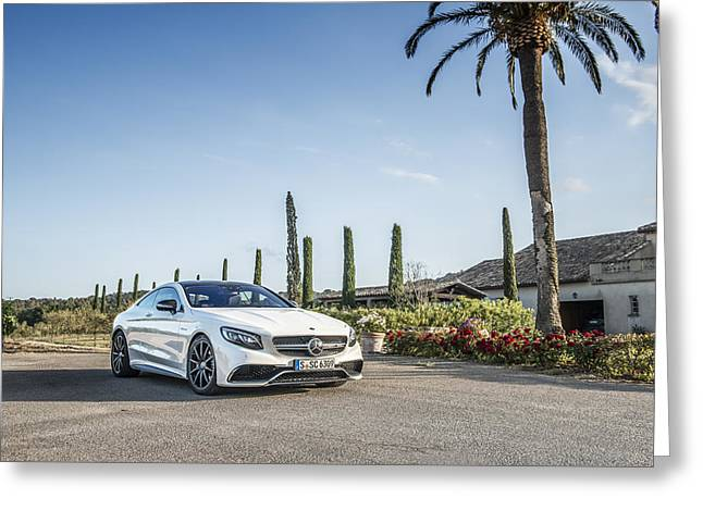 Mercedes Benz S63 Coupe Greeting Card