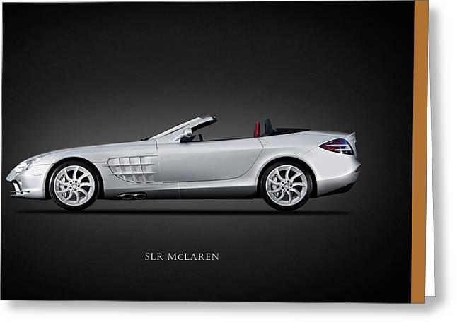 Mercedes Benz Slr Mclaren Greeting Card by Mark Rogan