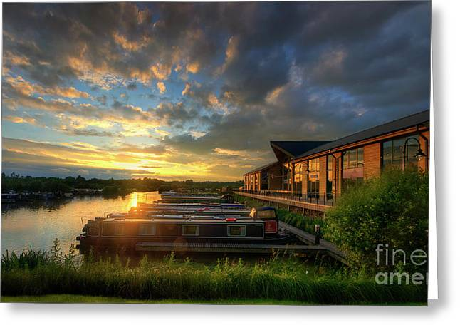 Greeting Card featuring the photograph Mercia Marina 10.0 by Yhun Suarez