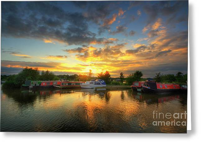 Greeting Card featuring the photograph Mercia Marina 11.0 by Yhun Suarez