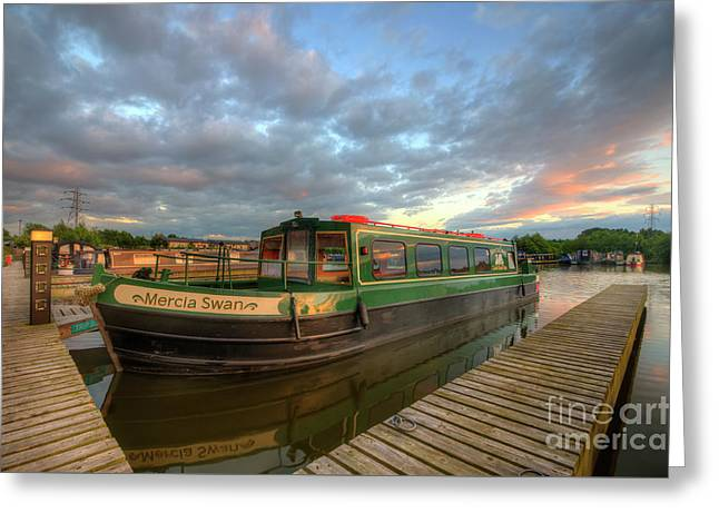 Greeting Card featuring the photograph Mercia Marina 14.0 by Yhun Suarez