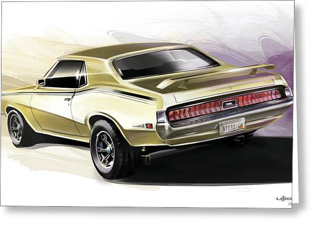 Mercury Cougar Eliminator Greeting Card