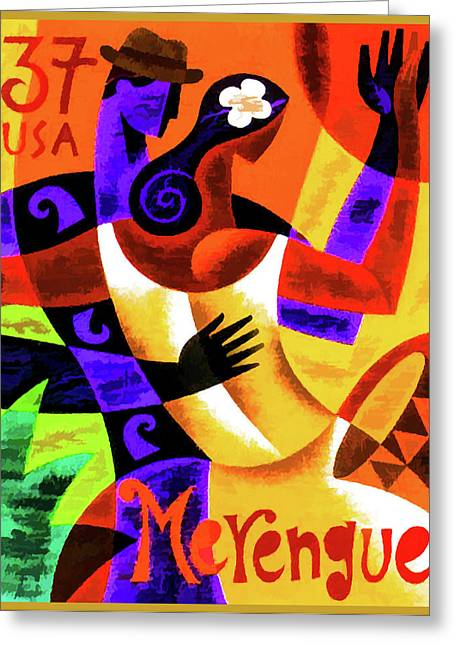 Merengue Greeting Card by Lanjee Chee