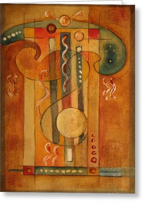 Merlin Greeting Card by Dan Earle