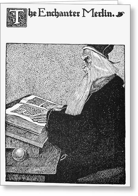 Merlin Greeting Card by Granger