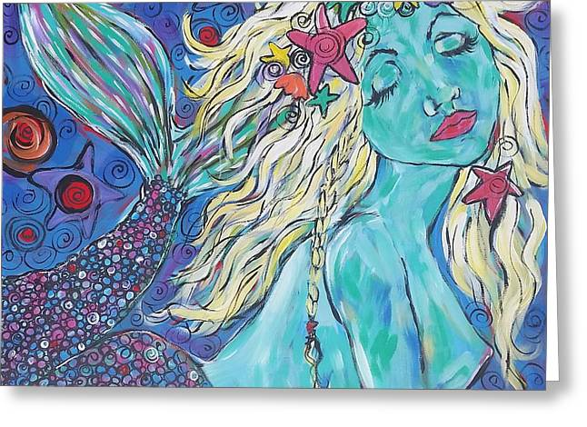 Mermaid Dream #2 Greeting Card