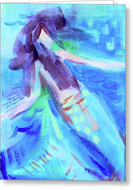 Mermaid I Greeting Card