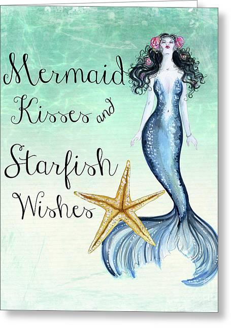 Mermaid Kisses Greeting Card