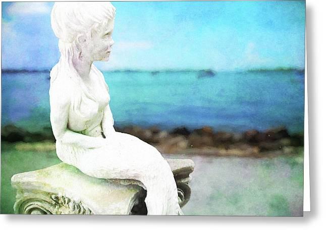 Mermaid Lisa Greeting Card