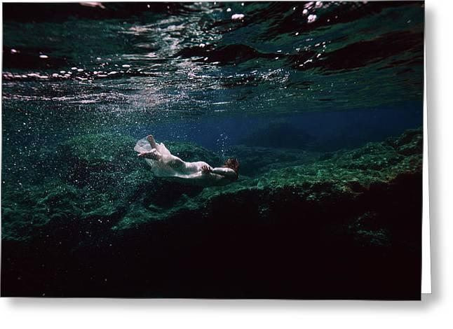Mermaid Route Greeting Card