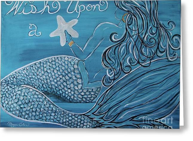 Mermaid- Wish Upon A Starfish Greeting Card