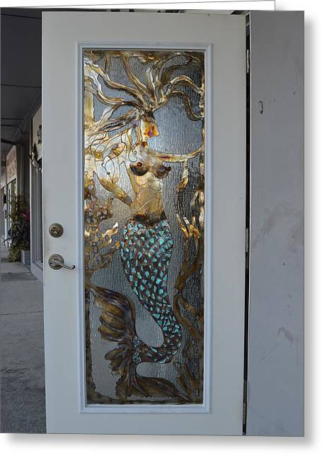 Mermaiden Greeting Card by Tammy Hopper