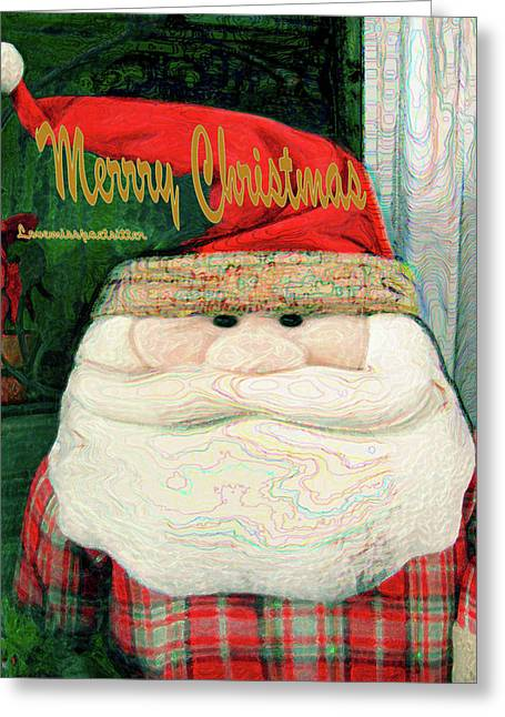 Merry Christmas Art 23 Greeting Card