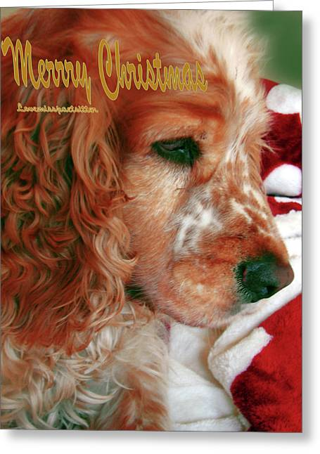 Merry Christmas Art 29 Greeting Card