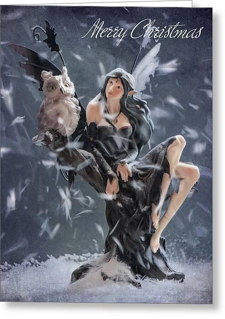 Merry Christmas Fairy Greeting Card