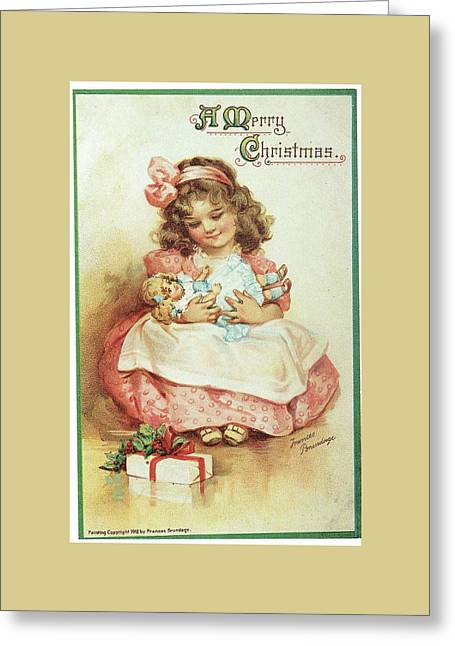 Merry Christmas For My Dolly Greeting Card