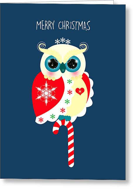Merry Christmas Greeting Card by Isabel Salvador