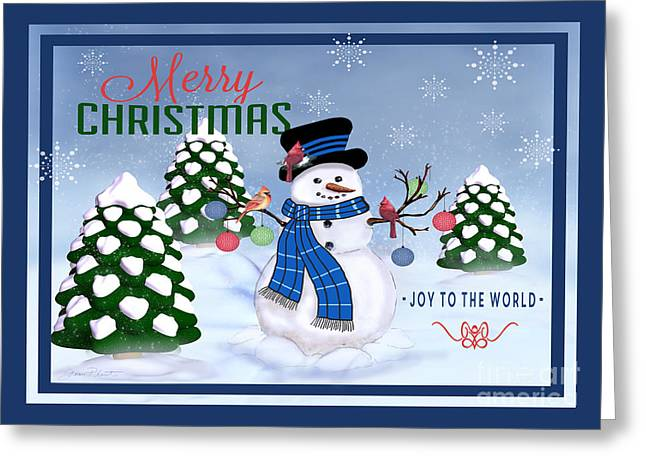 Merry Christmas-jp3121 Greeting Card by Jean Plout