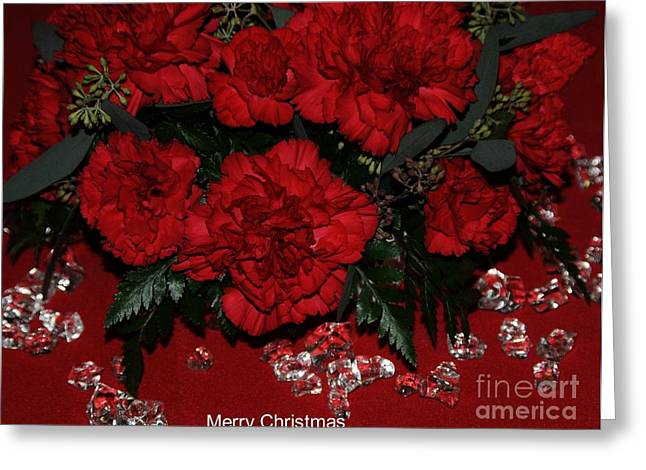 Merry Christmas Greeting Card by Kathleen Struckle