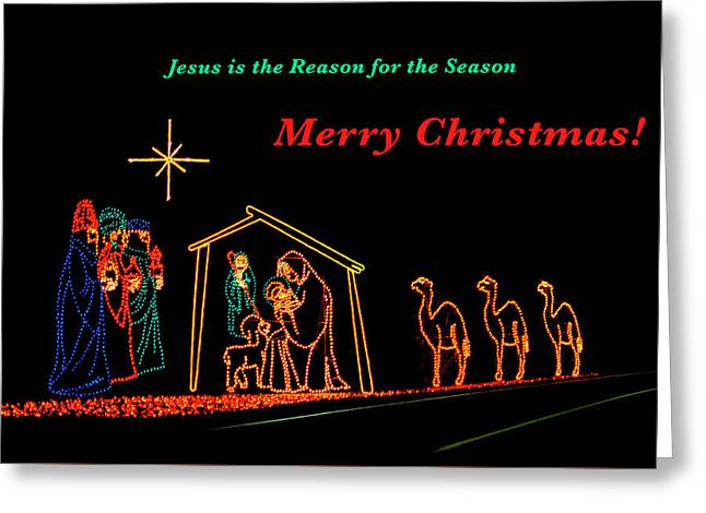 Greeting Card featuring the photograph Merry Christmas by Penny Lisowski