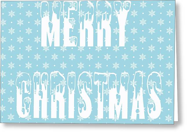 Merry Christmas Pillow Greeting Card