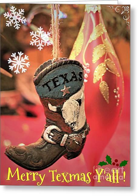 Merry Texmas Yall Greeting Card