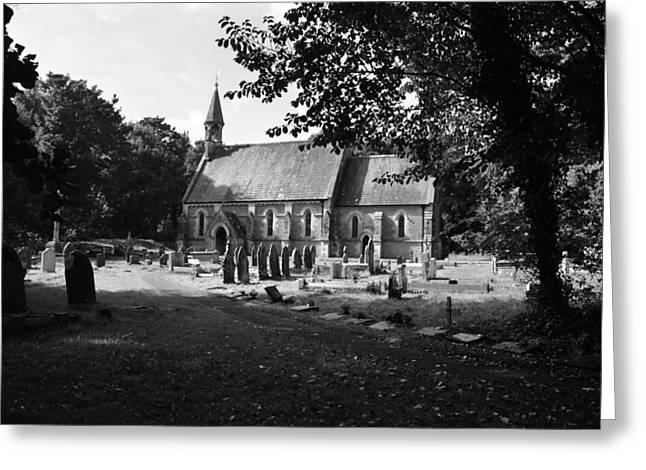 Merthyr Mawr Church In Wales Greeting Card
