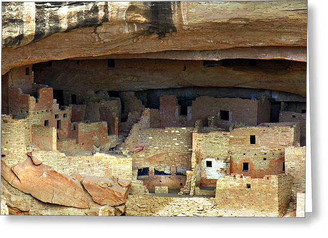 Mesa Verde Greeting Card by Marilyn Hunt