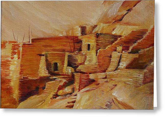 Mesa Verde Greeting Card by Summer Celeste