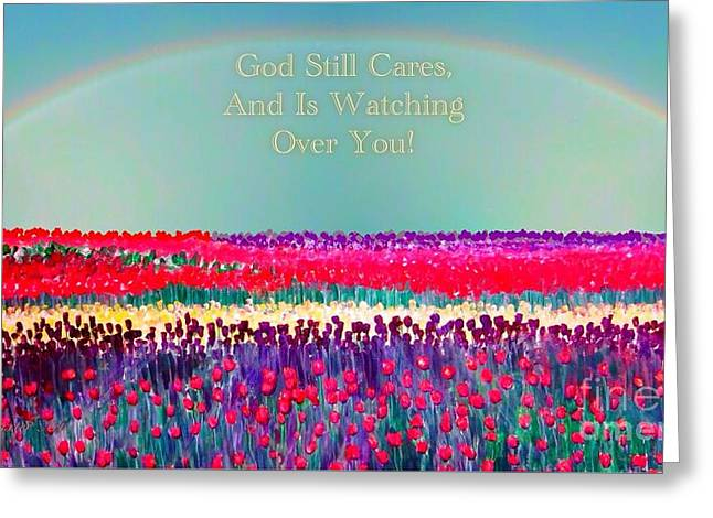 Message From The Other Side Greeting Card by Kimberlee Baxter