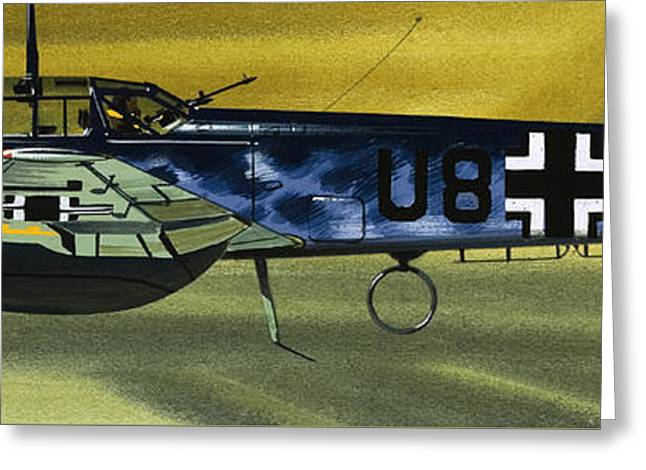 Messerschmitt Greeting Card