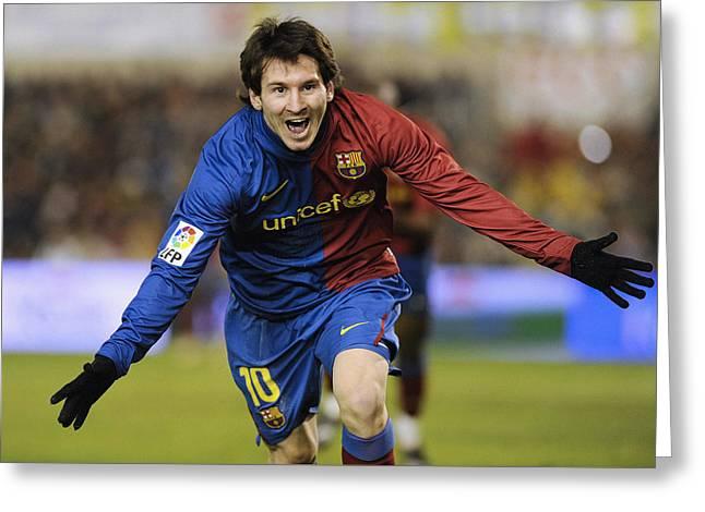 Messi 1 Greeting Card
