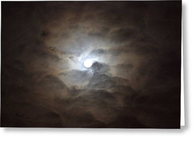 Messianic Moon Greeting Card