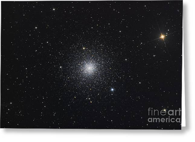 Messier 3, A Globular Cluster Greeting Card by Roth Ritter