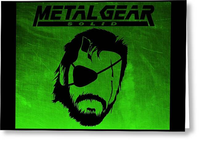 Metal Gear Solid Greeting Card by Kyle West