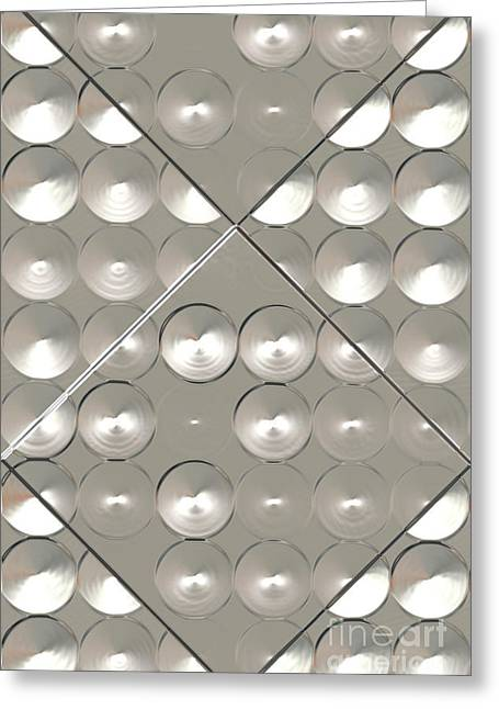 Metallic Sound N.1 Greeting Card by OliverP Photo-Art