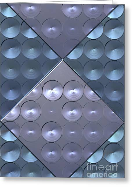 Metallic Sound N.4 Greeting Card by OliverP Photo-Art