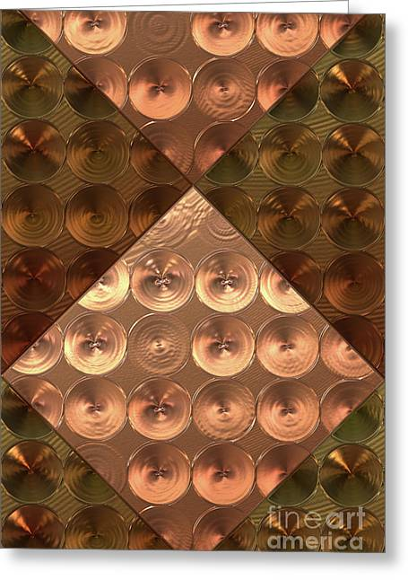 Metallic Sound N.5 Greeting Card by OliverP Photo-Art